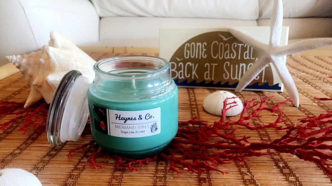 Mermaid Vibes 8 oz Soy Candle