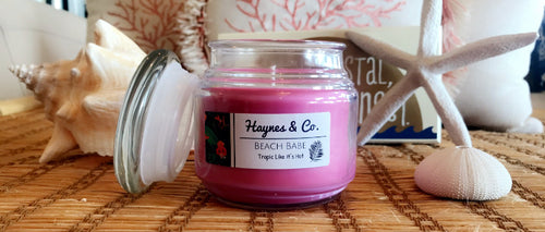 Beach Babe 8 oz Soy Candle