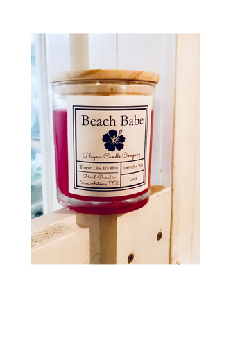 Beach Babe 14 oz Soy Candle
