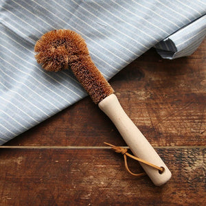 Coconut Fibre Bottle & Cup Brush