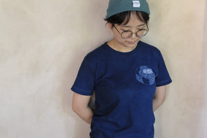 It's Too DAM HOT Indigo Organic Cotton T-shirt