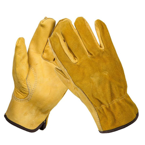 Genuine Leather Work Gloves