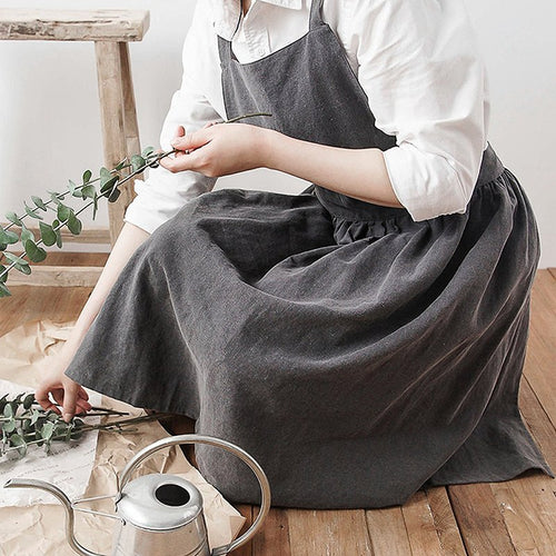 Hot Simple Washed Apron