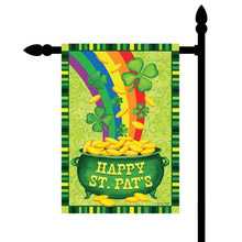 Load image into Gallery viewer, St. Patrick`s Day Mini Banner Garden Flag