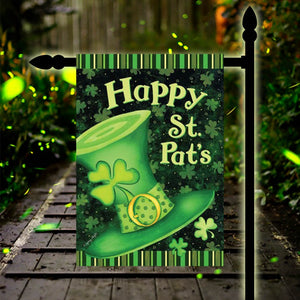 St. Patrick`s Day Mini Banner Garden Flag