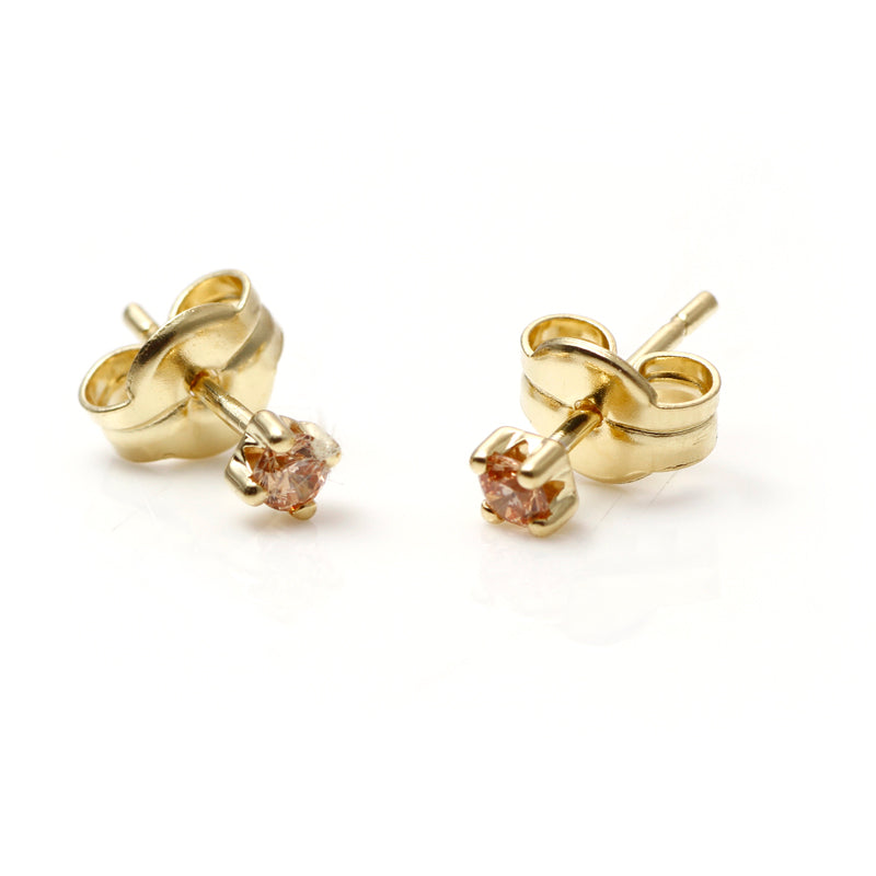 PENDIENTES SINGLE CHAMPAGNE