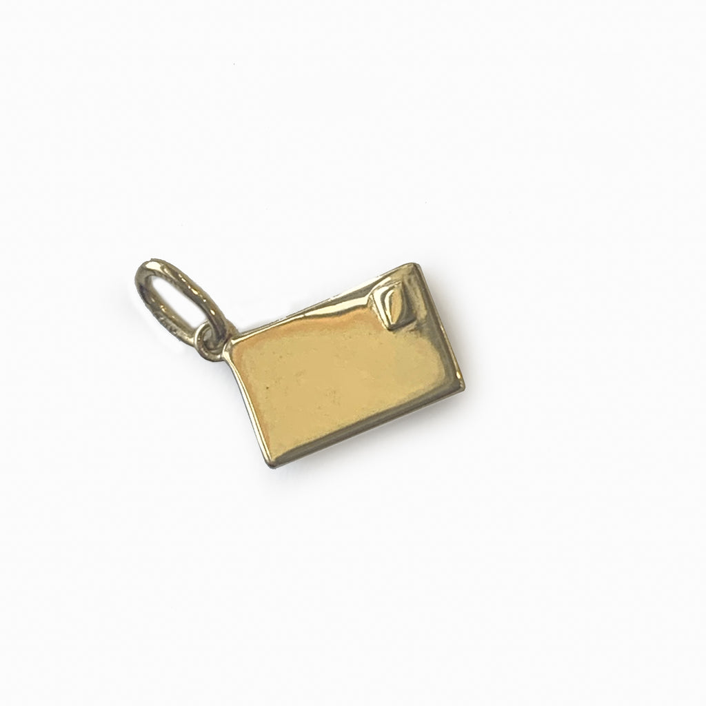 ENVELOPE CHARM GOLD