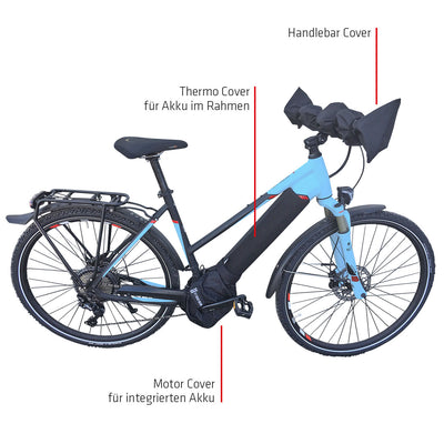 NC-17 Connect Handlebar + Seat Cover 2.0