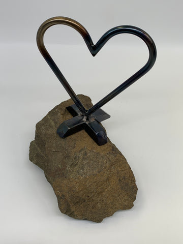 Matt Burke Metal Heart Art