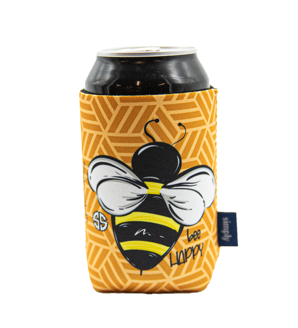 Simply Southern Bee Can Holder Koozie