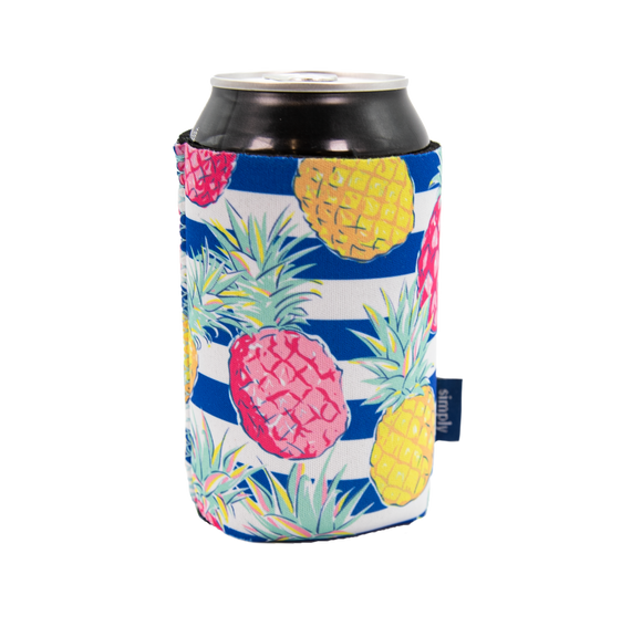 Simply Southern Pineapples Can Holder Koozie