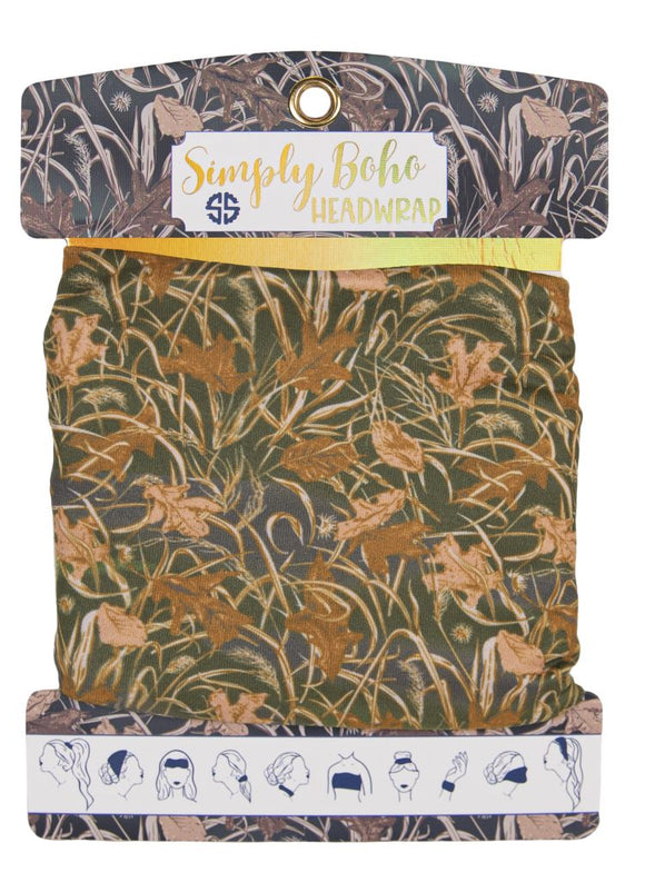 Simply Southern Headbands - Camouflage