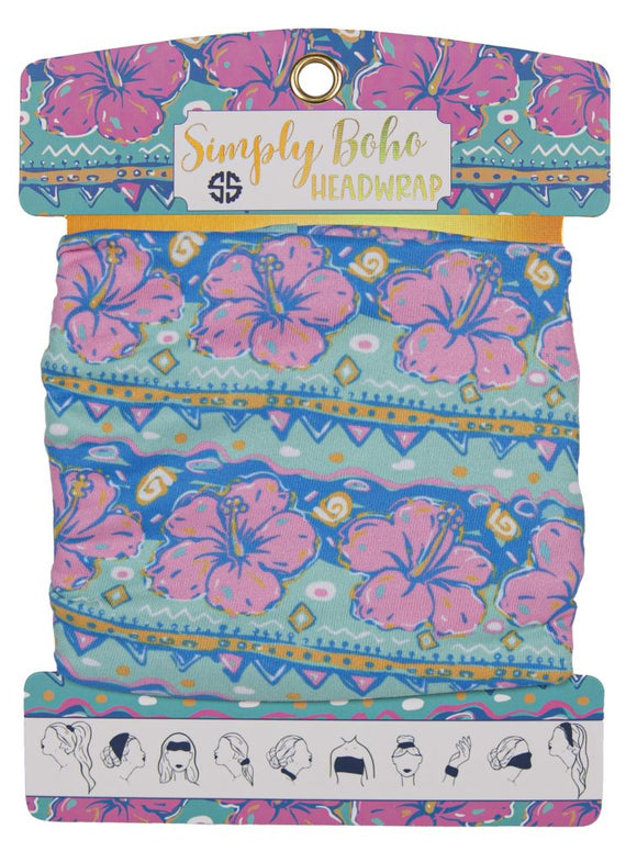 Simply Southern Headbands - Hibiscus