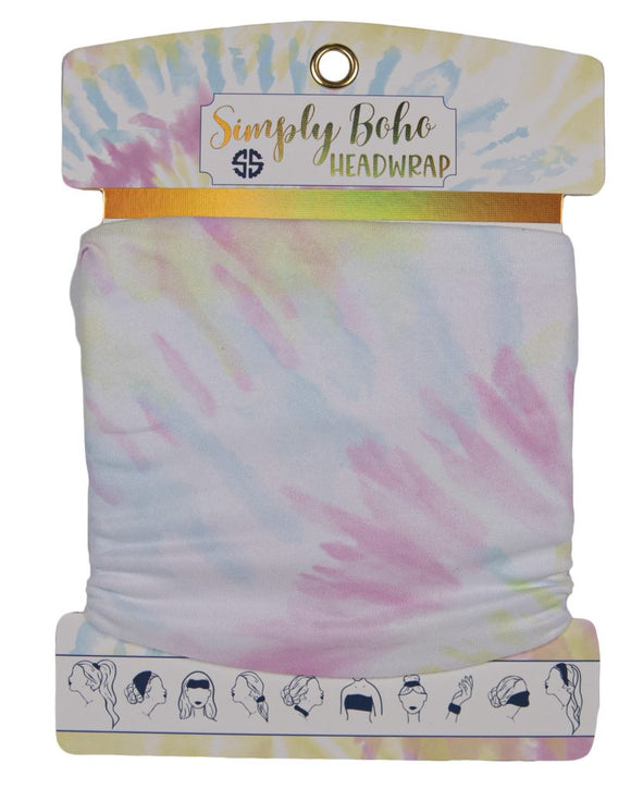 Simply Southern Headbands - TieDye