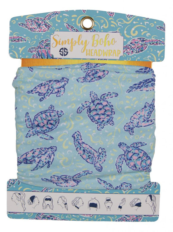 Simply Southern Headbands - Turtle