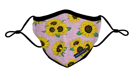 Simply Southern Adult Mask - Sunflower