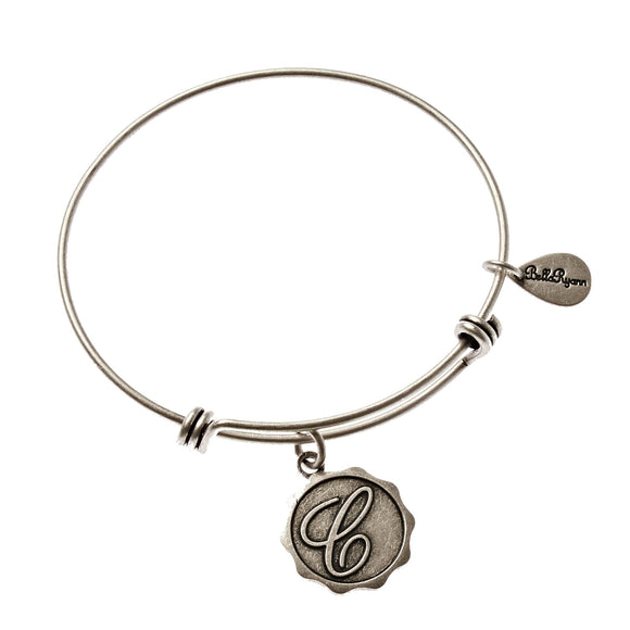 Bella Ryann Bangle Bracelet - Letter C - Turnmeyer Galleries