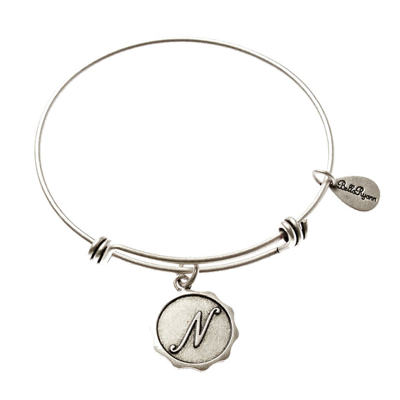 Bella Ryann Bangle Bracelet - Letter N - Turnmeyer Galleries