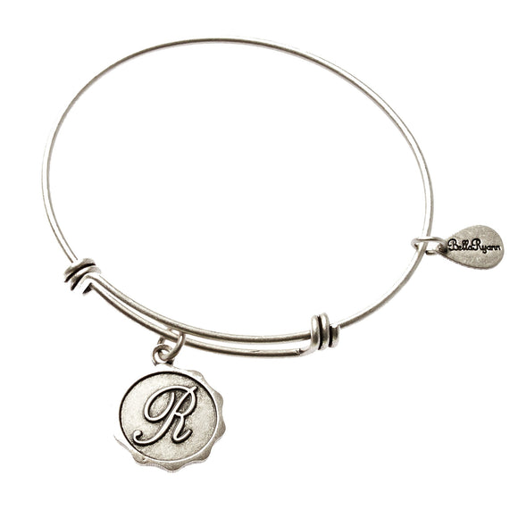 Bella Ryann Bangle Bracelet - Letter R - Turnmeyer Galleries