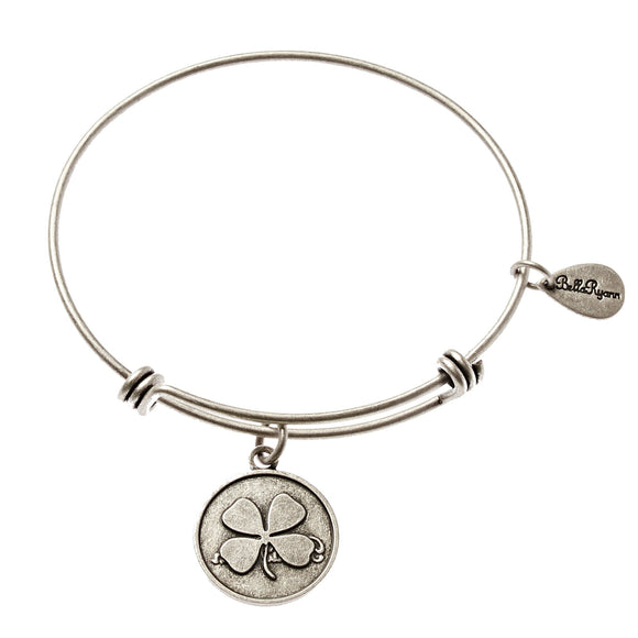 Bella Ryann Bangle Bracelet - Clover Leaf - Turnmeyer Galleries