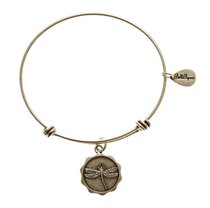 Bella Ryann Bangle Bracelet - Dragonfly - Turnmeyer Galleries