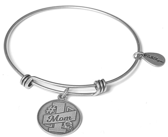 Bella Ryann Bangle Bracelet - #1 Mom - Turnmeyer Galleries