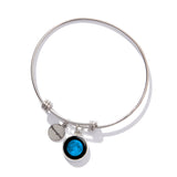 Moonglow Moonstock Bangle Bracelet