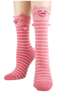 3D Novelty Socks - Pigs - Turnmeyer Galleries