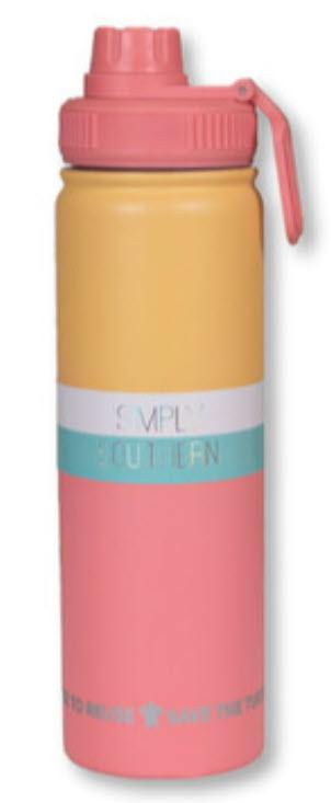 Simply Southern 22ox Water Bottle - Mango - Turnmeyer Galleries