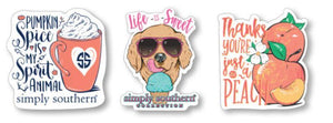 Simply Southern Sticker Decal 3 pack - Spicesweet