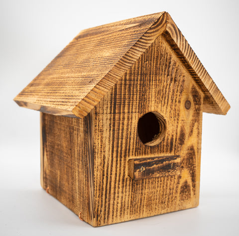 Handmade Wood Bird House