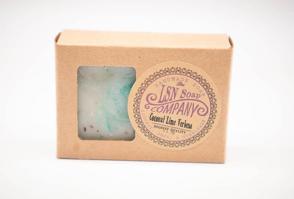 All Natural Soap - Coconut Lime Verbena - Turnmeyer Galleries