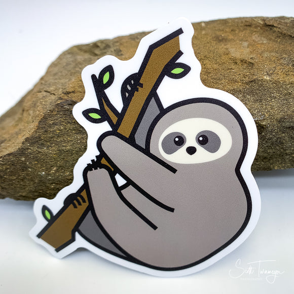 Sloth Vinyl Sticker Decal