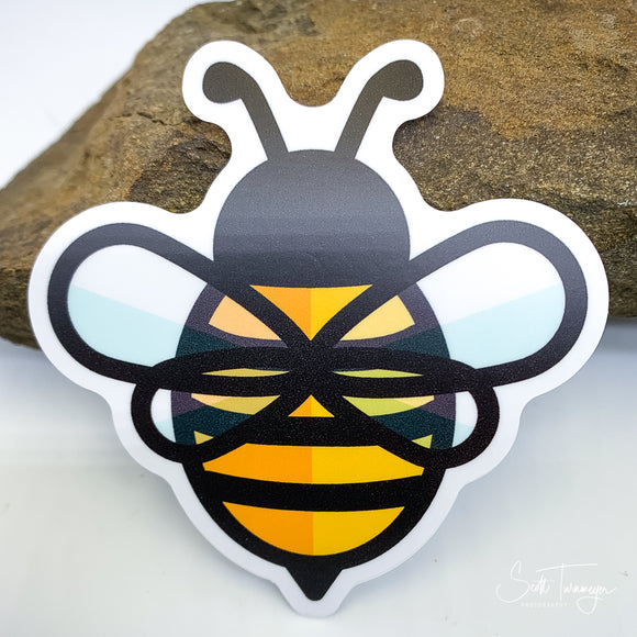 Honeybee Vinyl Sticker Decal