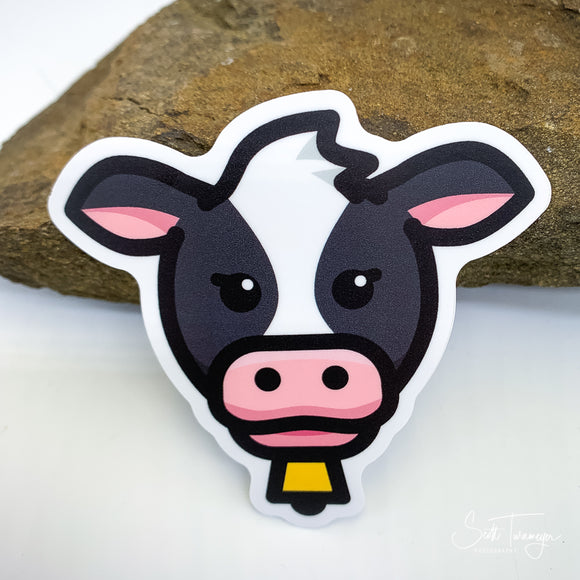 Cow Vinyl Sticker Decal