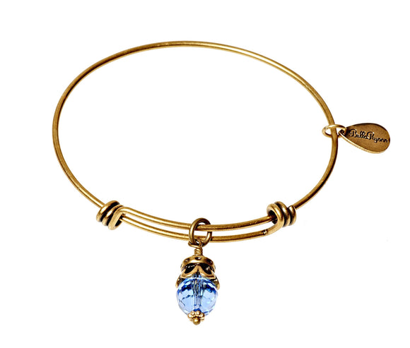Bella Ryann Bangle Birthstone Bracelet - December - Turnmeyer Galleries