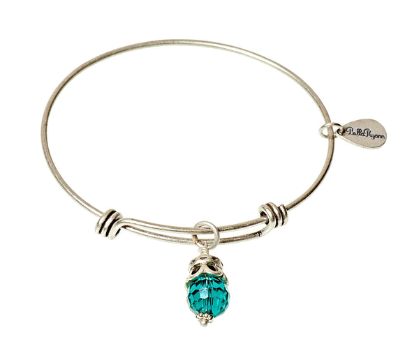 Bella Ryann Bangle Birthstone Bracelet - June - Turnmeyer Galleries