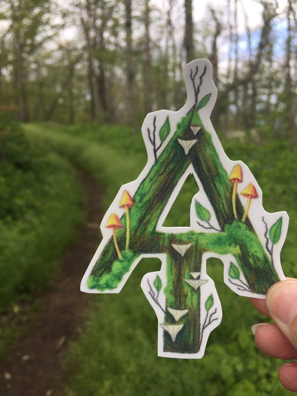 Appalachian Trail Decal - Turnmeyer Galleries