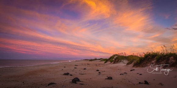 OBX Sunset Fine Art Landscape Photography Print - Turnmeyer Galleries