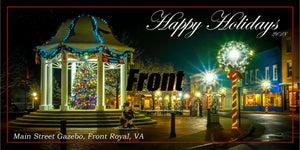 Front Royal at Christmas 2018 Holiday Cards in Color