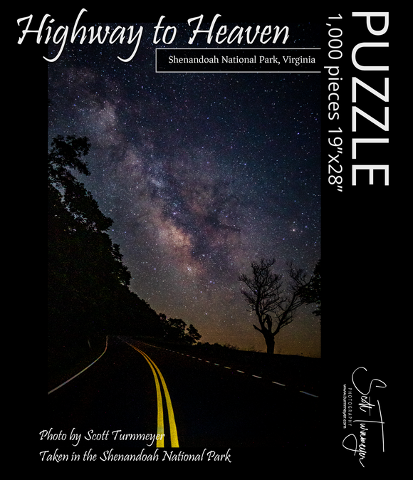 Highway to Heaven Fine Art Photography Jigsaw Puzzle - Turnmeyer Galleries