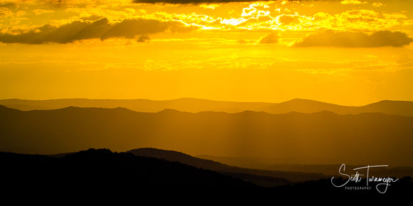 Golden Hour Fine Art Landscape Photography Print