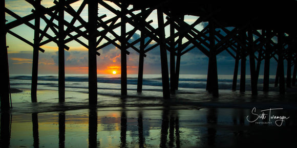 Morning Under The Pier Fine Art Landscape Photography Print