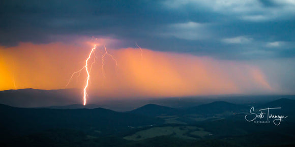 Storm on the Blue Ridge Fine Art Landscape Photography Print - Turnmeyer Galleries
