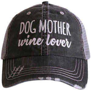 Dog Mother Wine Lover Trucker Hat - Turnmeyer Galleries
