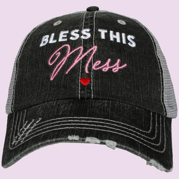 Bless This Mess Trucker Hat - Turnmeyer Galleries