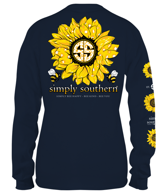 Simply Southern Sunflower Long Sleeve Shirt