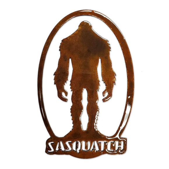 Sasquatch Oval MAGNET - Turnmeyer Galleries