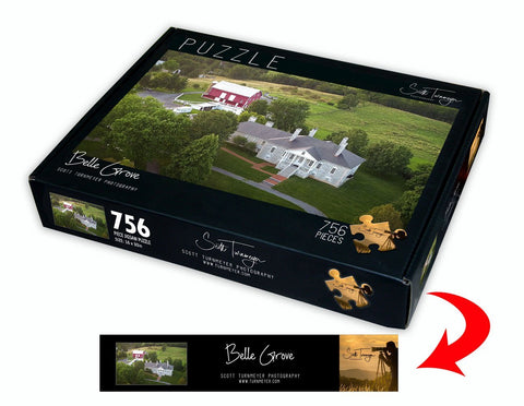 Belle Grove Fine Art Photography Jigsaw Puzzle by Scott Turnmeyer