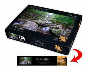 Dark Hollow Fine Art Photography Jigsaw Puzzle by Scott Turnmeyer